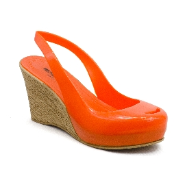 Plastic Wedge Cocò Orange 2