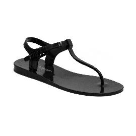 Plastic Sandal Athena Black